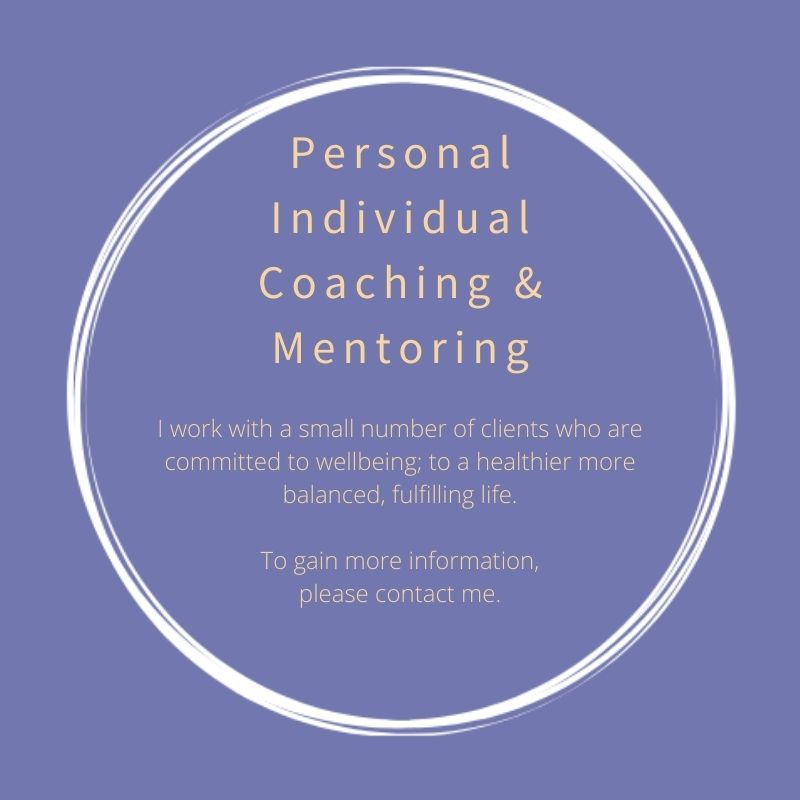 Personal Individual Coaching and Mentoring